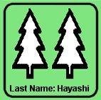 林 (Last Name: Hayashi)