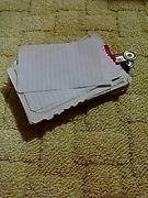 紙を捨てないでメモ用紙にする