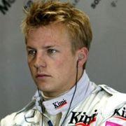 Kimi Raikkonen -McLaren-