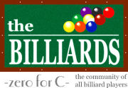 The BILLIARDS -zero for C-