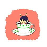ポン子のお茶会。