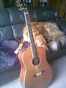 夕焼けまつりでギター練習する会
