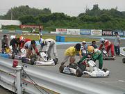 レーシングカートやるどー!!