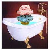 お風呂で アイス (・∀・)!