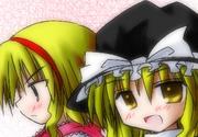 魔理沙×アリスに萌えるモノ達