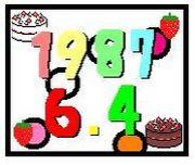 1987年6月4日生まれ