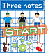 Three notes