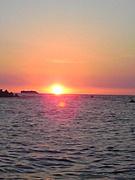 夕方の海が好き