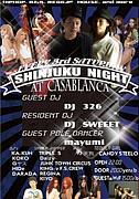 shinjuku night@新宿casablanca