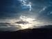 雲と太陽の コラボが 素敵