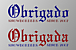 「Obrigado」snow borders