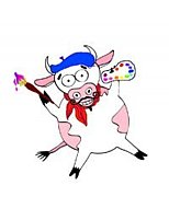 Pink Cow Art Blender