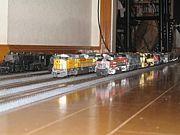 『アメリカ型鉄道模型』