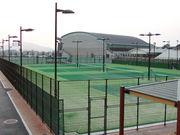 テニスをやるばい