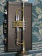 吹奏楽のトランペット