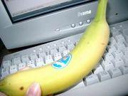 バナナに斑点付いたら無理!
