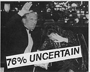 76% Uncertain