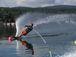 山中湖 水上スキー