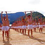 青雲学園棒体操