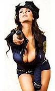 婦人警官に怒られたい