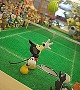 平日昼間に姫路でテニス