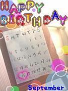 ★1989年9月26日生まれ★