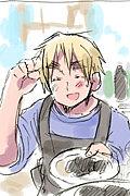 アーサーの手料理が食べ隊
