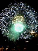 長岡花火は日本一、いや世界一♪
