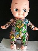 人形和彫り