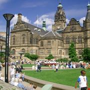 法政付属校Sheffield研修2001