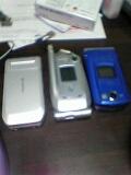 携帯複数持ってます。