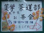 千葉大学薬学部茶道部