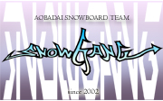 snowboard team [SNOWGANG]
