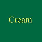 at the cream
