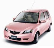 ゚・*:.。.ピンクの車.。.:*・゜
