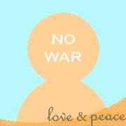 NO WAR �� Love �� peace