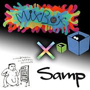 mix box×samp staff room