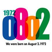 1972年8月2日生まれ