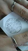 (^^)2008年5月5日入籍・結婚(^^)