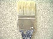 壁紙は塗装仕上げ
