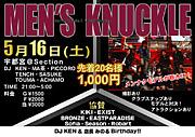 5/16MEN'S KNUCKL  in 栃木!!