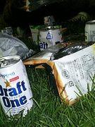 芝生ビール