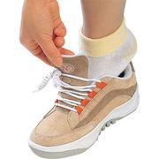 靴ひもを結ぶタイミングが微妙。