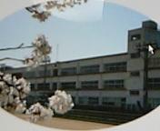 おわらの町の八尾中学校
