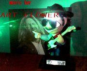 MUSIC BAR ART FLOWER