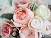 可愛い花嫁のヘッドパーツ