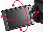 バリアングルモニタ付きカメラ