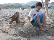 造形ビーチ相撲部