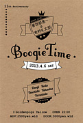 BOOGIETIME 2013/4/6(sat)!!!