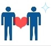 男性同士の身長差に萌える